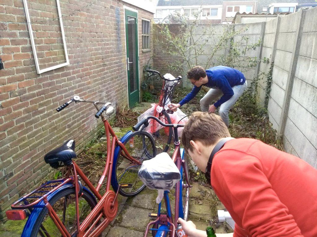 Via Fidei fiets - studentenvereniging Tilburg Brabant christelijk